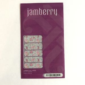 Jamberry Nail Wraps Feminine Flair Floral Stripe